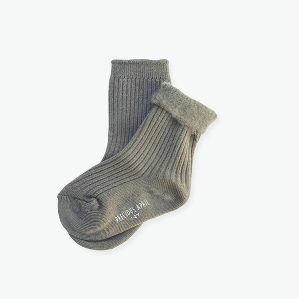 Precious April Finley Socks / Grey