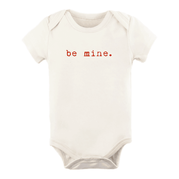 Tenth + Pine Organic Bodysuit / Be Mine - Dear Isla
