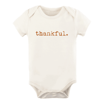 Tenth + Pine Organic Bodysuit / Rust Thankful - Dear Isla