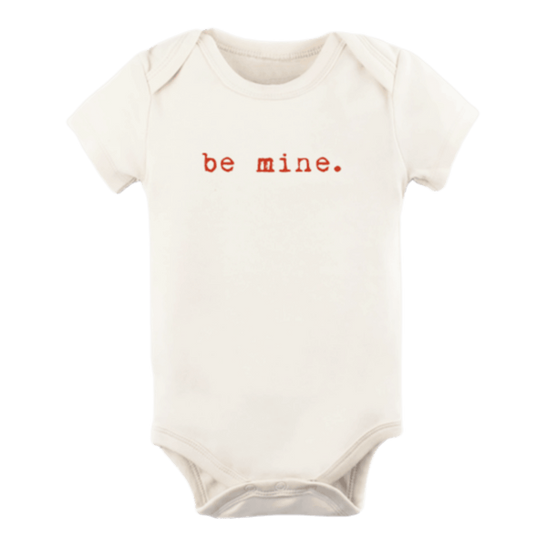 Tenth + Pine Organic Bodysuit / Be Mine
