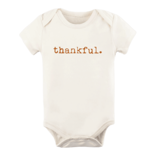 Tenth + Pine Organic Bodysuit / Rust Thankful