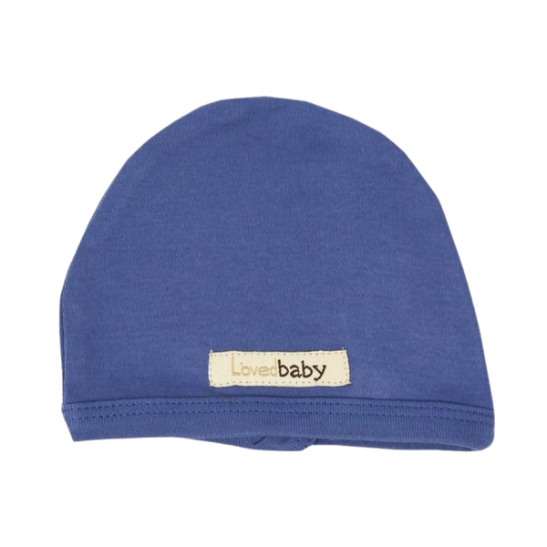 L'oved Baby Organic Matching Beanie / Slate