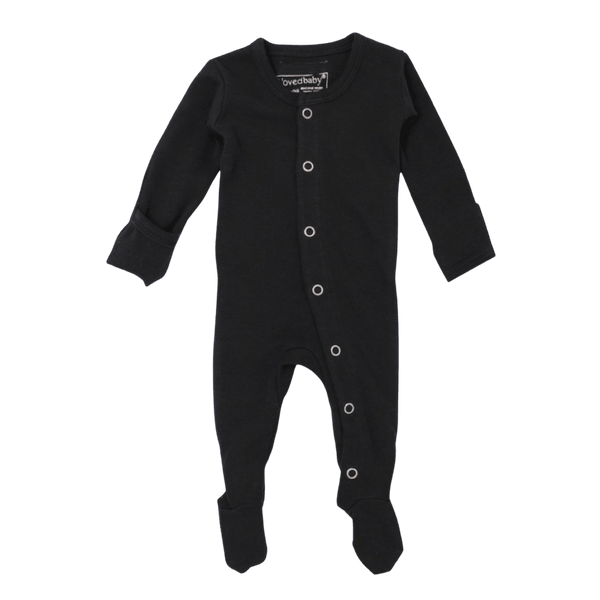 L'oved Baby Organic Overall / Black
