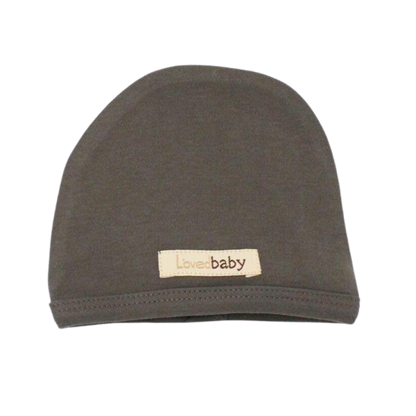 L'oved Baby Organic Matching Beanie / Gray