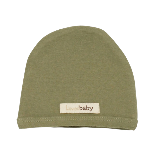 L'oved Baby Organic Matching Beanie / Sage