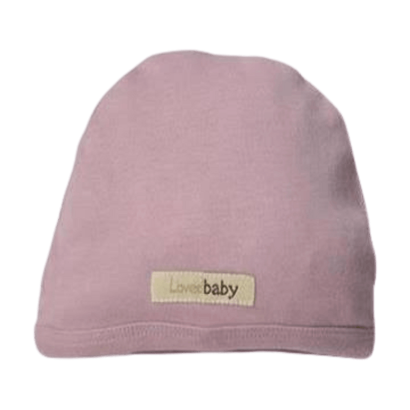 L'oved Baby Organic Matching Beanie / Lavender