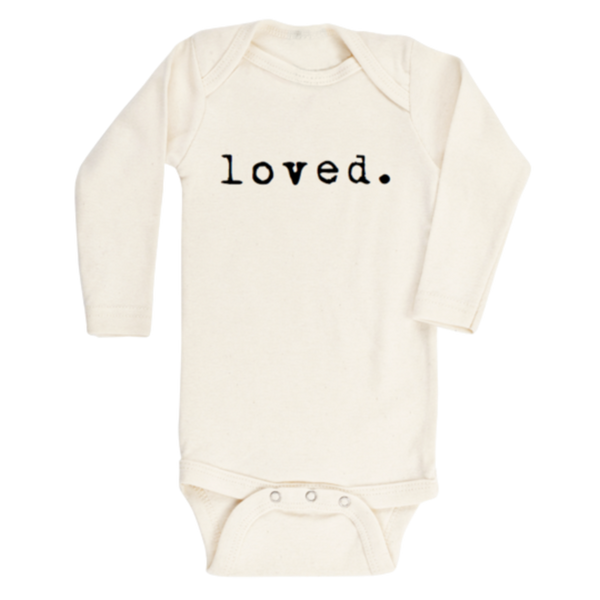 Tenth + Pine Organic Bodysuit LS / Loved