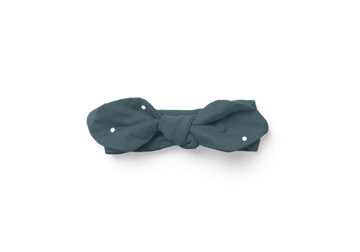 Piper Bug Muslin Wrap Bow / Seafoam Dotty - Dear Isla