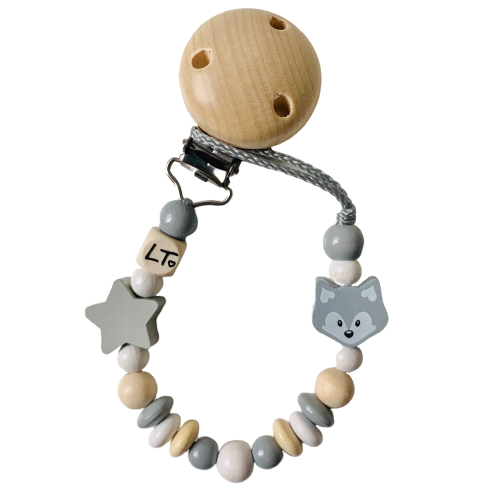 Luna's Treasures Soother Chains / Star + Fox