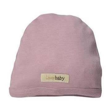 L'oved Baby Organic Matching Beanie / Lavender - Dear Isla