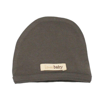 L'oved Baby Organic Matching Beanie / Gray - Dear Isla