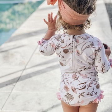 Luna's Treasures Sunsuit / Pink - Dear Isla