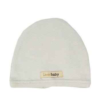 L'oved Baby Organic Matching Beanie / Stone - Dear Isla