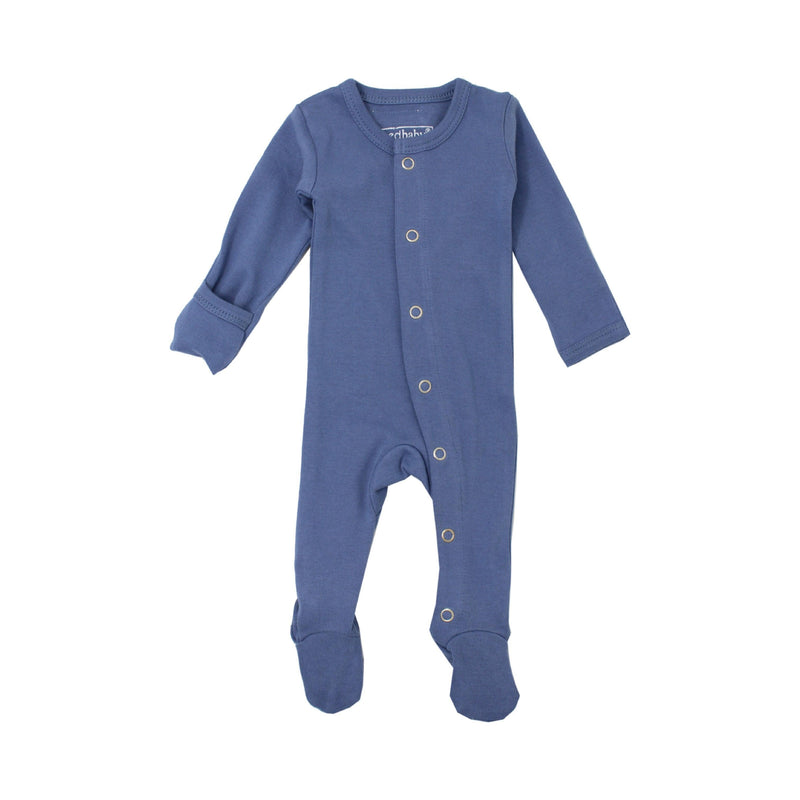 L'oved Baby Organic Overall / Slate - Dear Isla