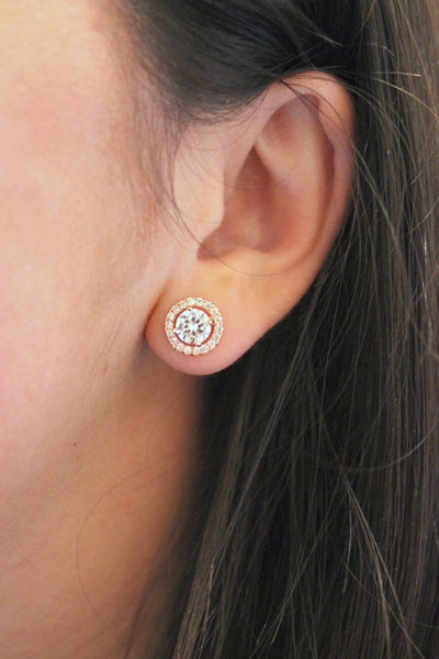 FLASH SALE - Crystal Stud Earrings