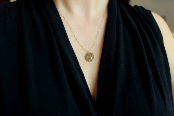 Gold Disk Necklace, Zodiac Necklace Gold, Gold Coin Choker, Most Popular Shops, Zodiac Dates, Important Dates Sign, Important Jewelry Zodiac