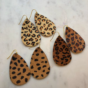 Leopard Earrings