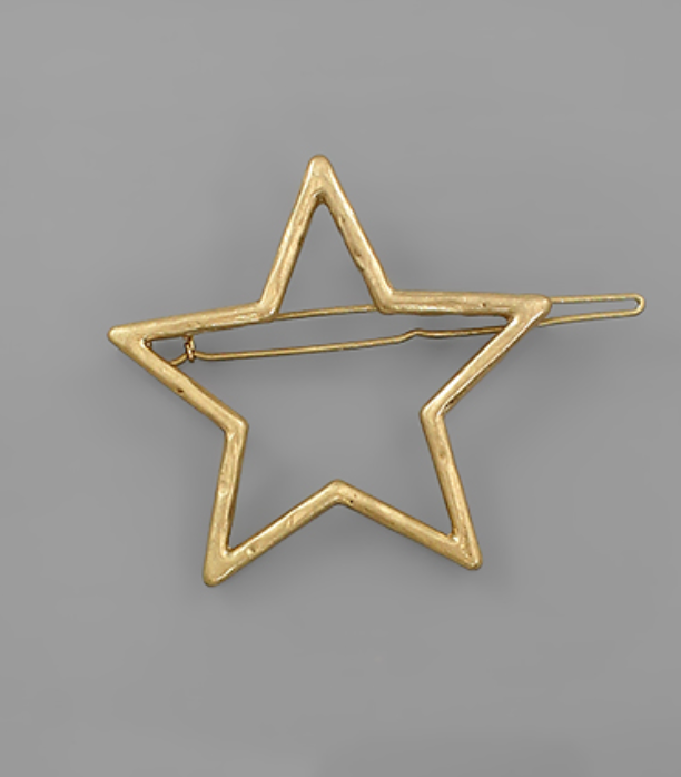 Single Star Hair Pin
