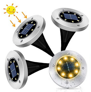 Bright Light Solar Powered Path Lights