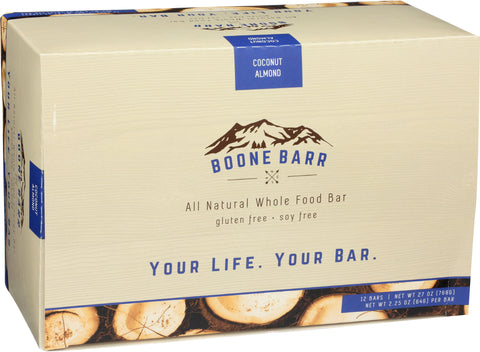 Case of Coconut Almond Boone Barrs