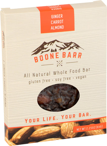 Ginger Carrot Almond Boone Barr