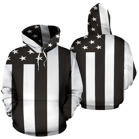 Image of American Flag Black & White - Deal Sharks