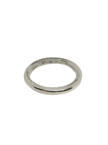 Imperfect Plain Silver Band