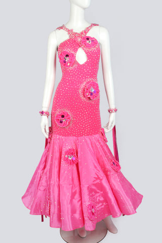 Hawaiian Pink Standard Dress