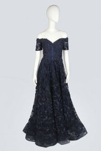 Navy Evening Dress