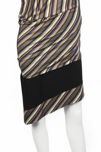 Latin Striped Skirt