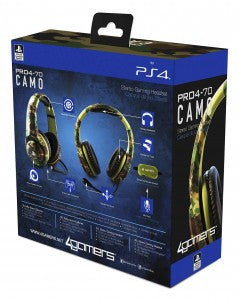 4Gamers PRO4-70 Camo Stereo Gaming Headset