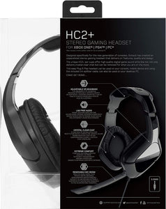 Gioteck HC2+ Wired Stereo Gaming Headset - Black