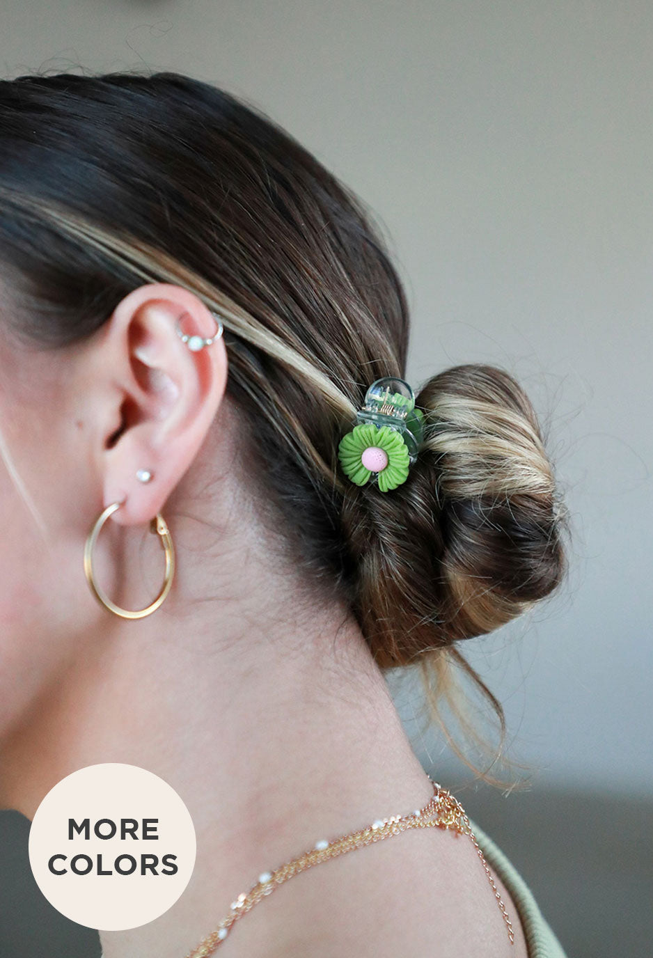 girl wearing camel sherpa teddy set standing smiling at camera