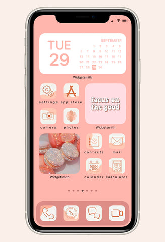 Pretty In Pastel Iphone Ios 14 Icon Pack Brooklyn Bailey