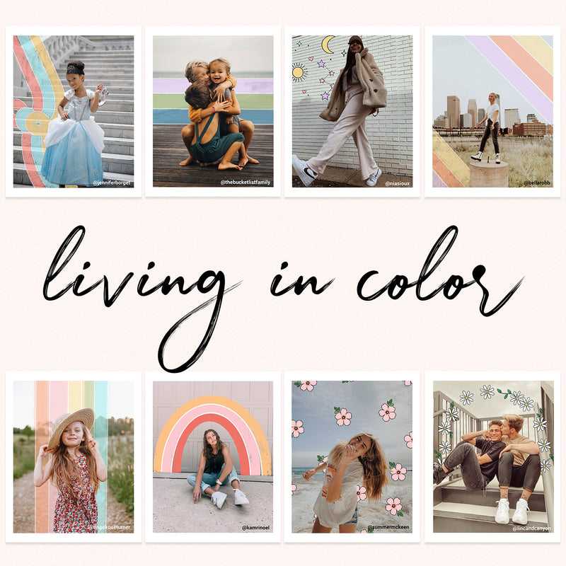 Living in Color Doodle Pack