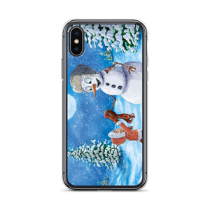 "iPhone Case featuring ""It's Cold Outside"" by Jose Lopez Jr."