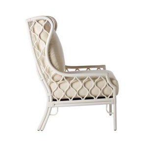 Ambrose Wing Chair - White