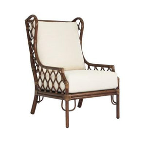 Ambrose Wing Chair - Cinnamon