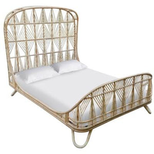 Ara Queen Bed - Natural