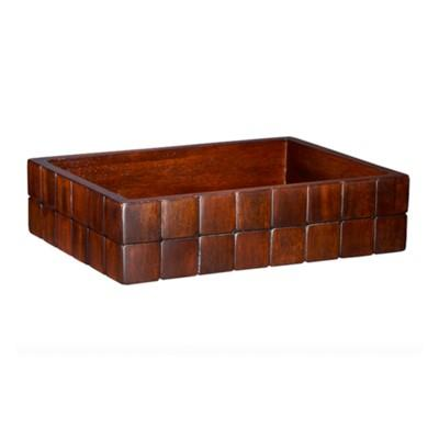 Barclay Amenities Tray - Mahogany