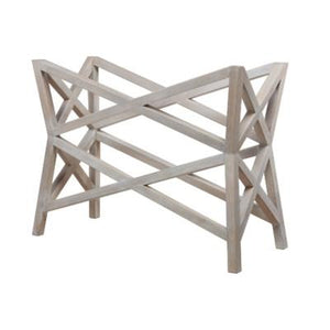 Bridge Console Table (Base) - White Wash