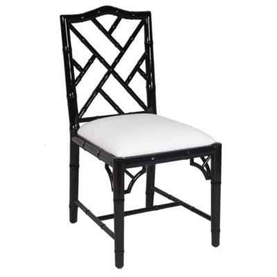 Britton Dining Chair - Black Lacquer