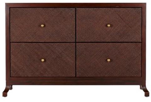 Caprice Four Drawer Cabinet - Hazelnut