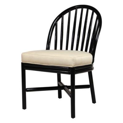 Carousel Dining Chair - Black Caviar