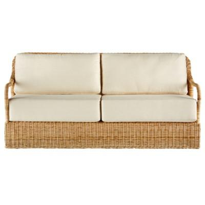 Desmona Wicker Sofa - Natural