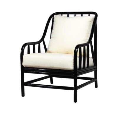 Harry Lounge Chair - Black Caviar