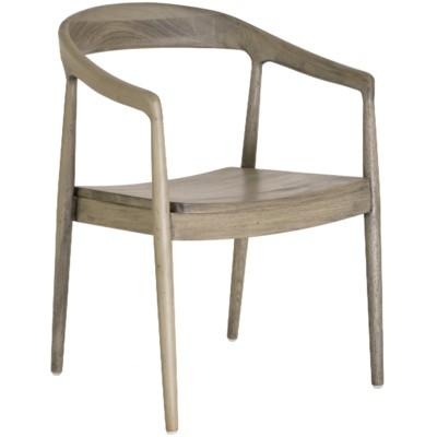 Ingrid Arm Chair - Grey Wash