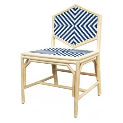 Justina Lucia Dining Chair - Navy