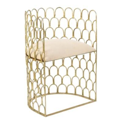Justinian Accent Chair - Gold