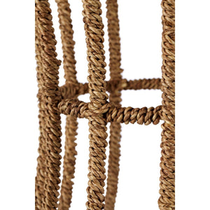 Jute Basket Table - Natural